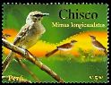 Cl: Long-tailed Mockingbird (Mimus longicaudatus) <<Chisco>>  SG 2506 (2007)  [4/33]