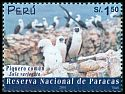 Cl: Peruvian Booby (Sula variegata) <<Piquero com&uacute;n>> (Endemic or near-endemic)  SG 2124 (2002)  I have 3 spare [1/34]