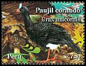 Cl: Horned Curassow (Pauxi unicornis) <<Paujil cornudo>>  new (2009)  [6/15]