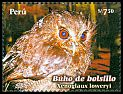 Cl: Long-whiskered Owlet (Xenoglaux loweryi) <<Buho de bolsillo>>  SG 2606 (2008) 1100 [6/2] I have 1 spare [2/9]
