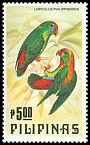 Cl: Philippine Hanging-Parrot (Loriculus philippensis) SG 1798 (1984) 110