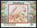 Cl: Philippine Cockatoo (Cacatua haematuropygia)(Endemic or near-endemic)  SG 2466 (1992)