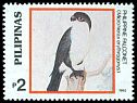 Cl: Philippine Falconet (Microhierax erythrogenys) SG 2472 (1992)