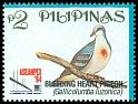 Cl: Luzon Bleeding-heart (Gallicolumba luzonica) SG 2690 (1994)