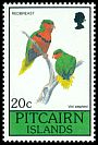 Pitcairn Is <<Red Breast>> SG 385 (1990)