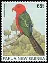 Cl: Papuan King-Parrot (Alisterus chloropterus) SG 778 (1996) 225