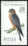 Cl: Merlin (Falco columbarius) SG 2347 (1975) 250