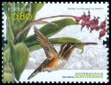 Cl: Minute Hermit (Phaethornis idaliae)(Out of range and no other stamp)  SG 3734 (2010)  [6/32] I have 1 spare [1/25]