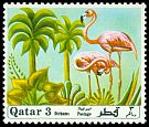 Cl: Caribbean Flamingo (Phoenicopterus ruber)(Out of range)  SG 351 (1971) 85