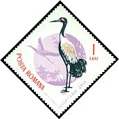 Cl: Common Crane (Grus grus) <<Cocor>>  SG 3309 (1965) 90 I have 1 spare [2/33]