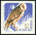 Cl: Barn Owl (Tyto alba) <<Striga>> (Repeat for this country)  SG 3442 (1967) 65