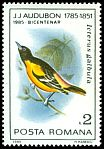 Cl: Baltimore Oriole (Icterus galbula)(Out of range)  SG 4939 (1985)