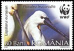 Cl: Eurasian Spoonbill (Platalea leucorodia)(Repeat for this country)  SG 6734 (2006)  [5/45]