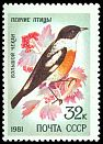 Cl: White-throated Bushchat (Saxicola insignis) SG 5162 (1981) 90