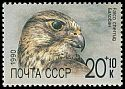 Cl: Saker Falcon (Falco cherrug)(Repeat for this country)  SG 6136 (1990)
