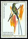 Cl: Red-tufted Sunbird (Nectarinia johnstoni dartmouthi) SG 1143 (1983) 5