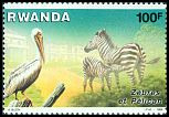 Cl: Great White Pelican (Pelecanus onocrotalus)(Repeat for this country)  SG 1280 (1986) 500