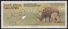 Cl: Red-billed Oxpecker (Buphagus erythrorhynchus)(Repeat for this country)  SG 866 (1995) 40