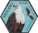 Cl: African Fish-Eagle (Haliaeetus vocifer)(Repeat for this country)  SG 1508a (2004)  [3/55]