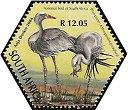 Cl: Blue Crane (Grus paradisea)(Endemic or near-endemic)  SG 1508f (2004)  [3/55]