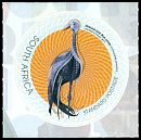 Cl: Blue Crane (Grus paradisea)(Stylised) (I do not have this stamp)  new (2012)  [7/32]