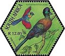 Cl: Purple-crested Turaco (Tauraco porphyreolophus)(Repeat for this country)  SG 1508e (2004)  [3/55]