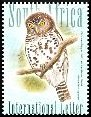 Cl: African Barred Owlet (Glaucidium capense) SG 1624 (2007)  [4/20] I have 3 spare [1/27]