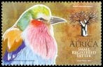 Cl: Lilac-breasted Roller (Coracias caudata)(Repeat for this country)  SG 1764c (2010) 250