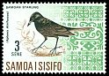 Cl: Samoan Starling (Aplonis atrifusca) SG 282 (1967) 10