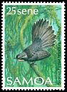 Cl: Samoan Fantail (Rhipidura nebulosa)(Endemic or near-endemic)  SG 791 (1988) 12