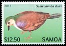 Cl: Friendly Ground-Dove (Gallicolumba stairi) SG 1260 (2013)