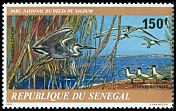 Cl: Grey Heron (Ardea cinerea) <<Heron cendre>> (Repeat for this country)  SG 662 (1978)