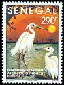 Cl: Western Reef-Heron (Egretta gularis) <<Aigrette dimorphe>> (Repeat for this country)  SG 1260 (1995)  [11/19]