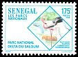 Cl: Greater Flamingo (Phoenicopterus roseus) <<Flamant rose>> (Repeat for this country)  SG 1413 (1996)