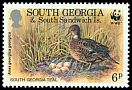 Cl: Yellow-billed Pintail (Anas georgica)(Repeat for this country)  SG 215 (1992)