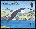 Cl: Black-browed Albatross (Thalassarche melanophris)(Repeat for this country)  SG 426a (2006)  [5/47]