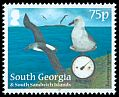 Cl: Grey-headed Albatross (Thalassarche chrysostoma)(Repeat for this country) (I do not have this stamp)  SG 572 (2012)  [8/5]