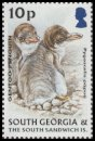 Cl: Gentoo Penguin (Pygoscelis papua)(Repeat for this country)  SG 394 (2004)