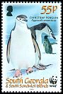 Cl: Chinstrap Penguin (Pygoscelis antarctica)(Repeat for this country)  SG 453 (2008)