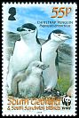 Cl: Chinstrap Penguin (Pygoscelis antarctica)(Repeat for this country)  SG 454 (2008)