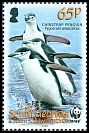 Cl: Chinstrap Penguin (Pygoscelis antarctica)(Repeat for this country)  SG 455 (2008)