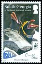 Cl: Macaroni Penguin (Eudyptes chrysolophus)(Repeat for this country)  new (2017)  [11/30]
