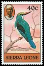 Cl: Blue-breasted Kingfisher (Halcyon malimbica forbesi) SG 631 (1983) 50