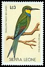 Cl: Swallow-tailed Bee-eater (Merops hirundineus) SG 1142 (1988) 8