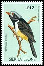 Cl: Chestnut-bellied Helmetshrike (Prionops caniceps) SG 1146 (1988) 35