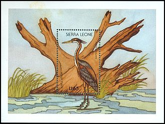Cl: Purple Heron (Ardea purpurea) SG 1150 (1988) 0