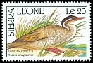 Cl: African Finfoot (Podica senegalensis) SG 1479 (1990) 0