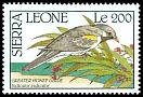 Cl: Greater Honeyguide (Indicator indicator) SG 1482 (1990) 0