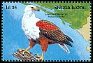 Cl: African Fish-Eagle (Haliaeetus vocifer) SG 1513 (1990) 40