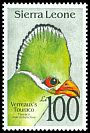 Cl: Yellow-billed Turaco (Tauraco macrorhynchus)(Repeat for this country)  SG 1831 (1992)
